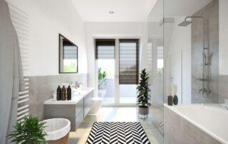 Südcarré - Badezimmer
