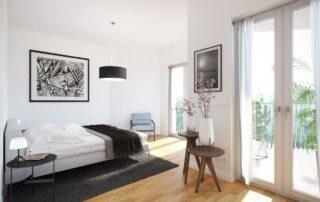 Südcarré - Schlafzimmer